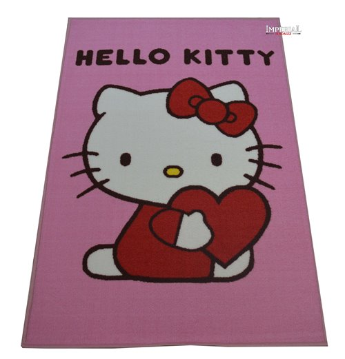 Copriletto Hello Kitty Singolo.Hello Kitty Imperial Tendaggi Tappeto Per Bambini Disney