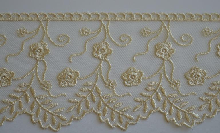 Tende Di Tulle Ricamato : Tine home curtains biancheria di qualità cortina ricamata la
