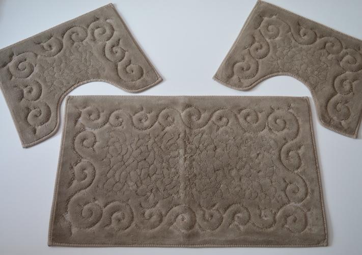 Tappetini imperial tendaggi tris parure tappeti bagno