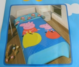 PEPPA A PIG E GEORGE PIG BLUE